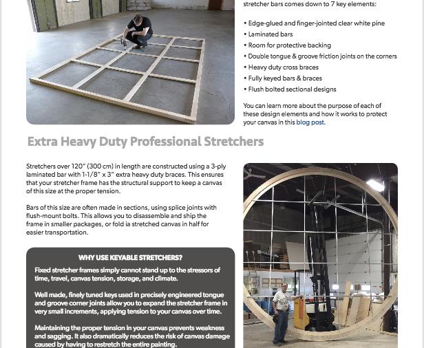Heavy Duty Stretchers Ebook Screenshot
